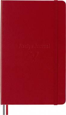 Блокнот Moleskine Passion Recipe Large красный (PASRECP)