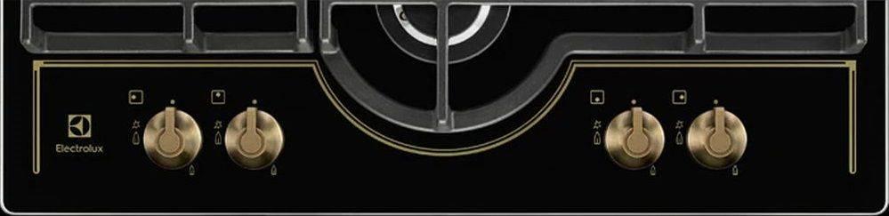 Газовая варочная поверхность Electrolux GPE363RBK черный - фото 7
