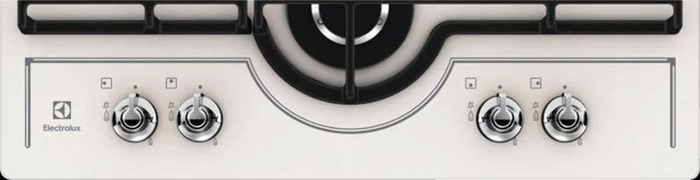 Газовая варочная поверхность Electrolux GPE363RCV кремовый - фото 3