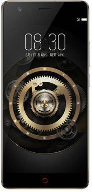 Смартфон Nubia Z17 Lite 64ГБ черный/золотистый (Z17 LITE)