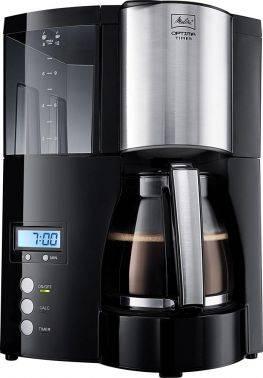 Кофеварка капельная Melitta Optima Timer черный (6613648)