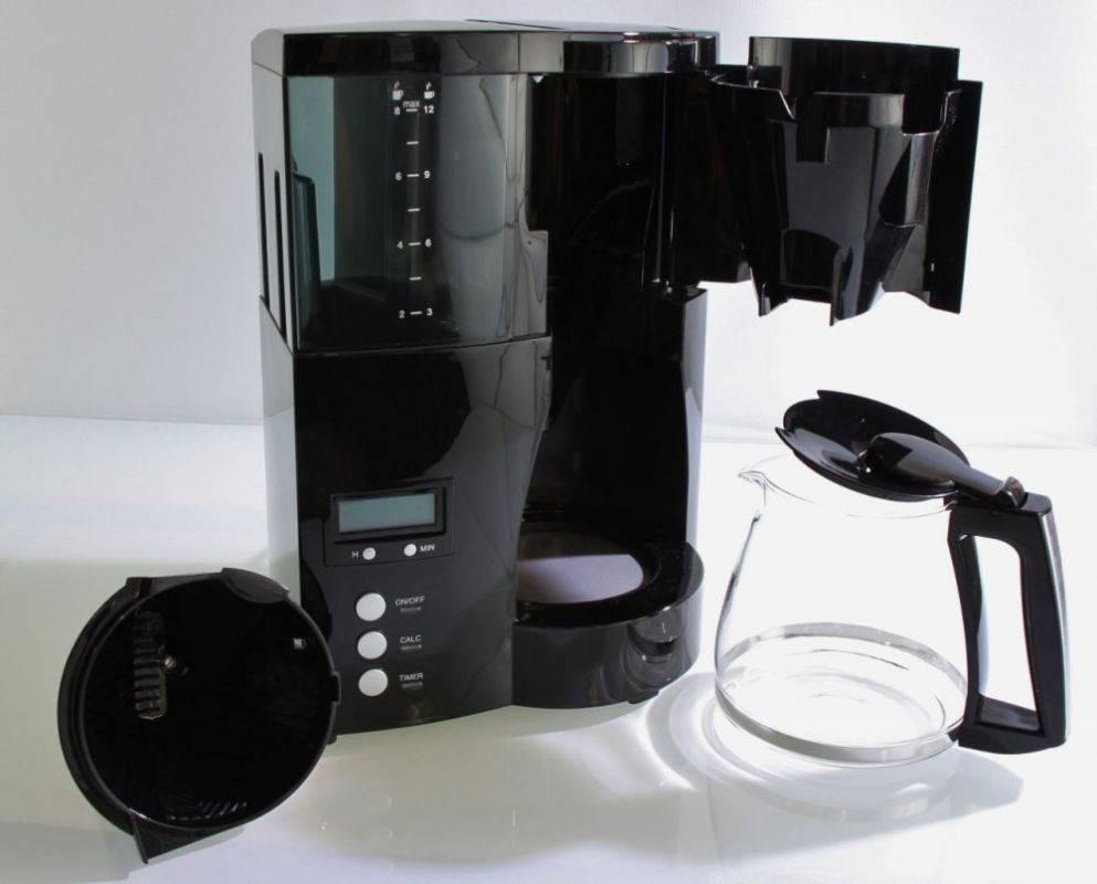 Кофеварка капельная Melitta Optima Timer черный (6613648) - фото 2