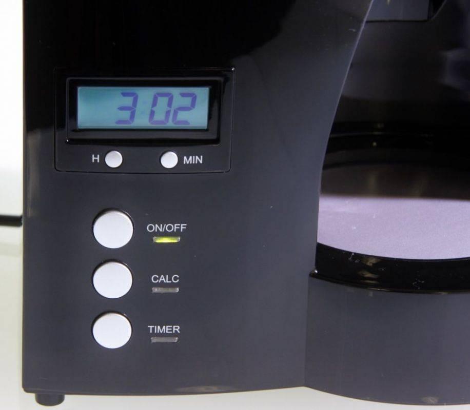 Кофеварка капельная Melitta Optima Timer черный (6613648) - фото 4