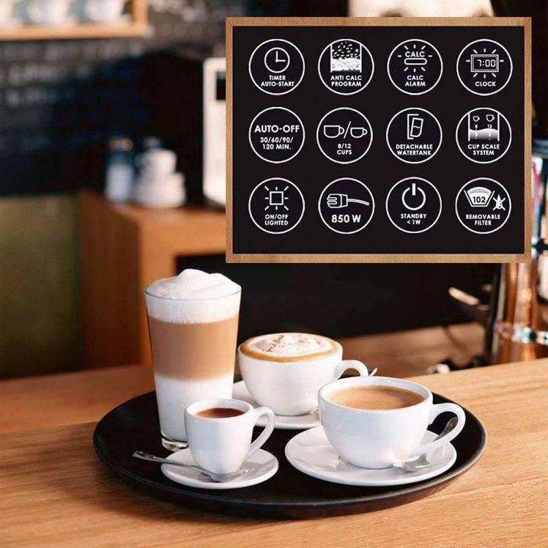 Кофеварка капельная Melitta Optima Timer белый (6613655) - фото 7