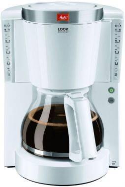 Кофеварка капельная Melitta Look IV Selection белый (6708085)