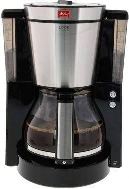 Кофеварка капельная Melitta Look IV de luxe черный (6708030)