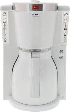 Кофеварка капельная Melitta Look IV Therm Selection белый (6738075)