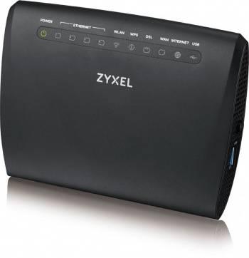 Маршрутизатор беспроводной Zyxel VMG3312-T20A черный (VMG3312-T20A-EU01V1F)