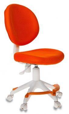 Кресло детское Бюрократ KD-W6-F оранжевый (KD-W6-F/TW-96-1)