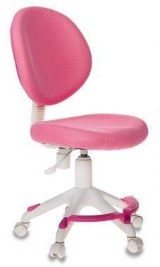 Кресло детское Бюрократ KD-W6-F розовый (KD-W6-F/TW-13A)