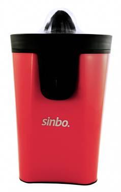 Соковыжималка цитрусовая Sinbo SJ 3145 красный/прозрачный