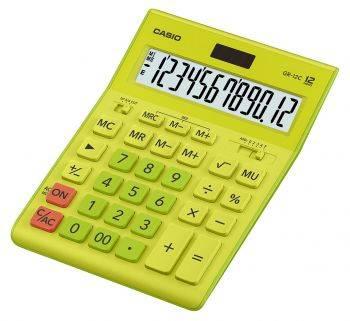 Калькулятор настольный Casio GR-12C-GN салатовый (GR-12C-GN-W-EP)