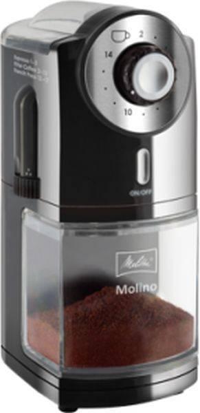 Кофемолка Melitta Molino черный (21518) - фото 1