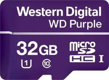 Карта памяти microSDHC 32Gb Class10 WD Purple (WDD032G1P0A)
