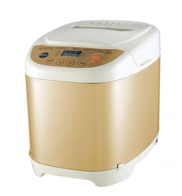Хлебопечь Midea BM-210JN-IV белый/золотистый - фото 1