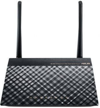 Модем xDSL Asus DSL-N16 RJ-11 черный
