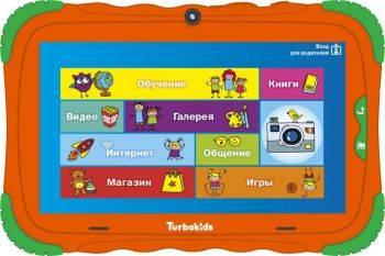 "Планшет 7"" Turbo TurboKids S5 8 оранжевый"