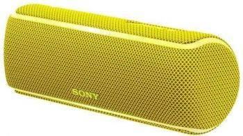 Колонка портативная Sony SRS-XB21 желтый (SRSXB21Y.RU2)