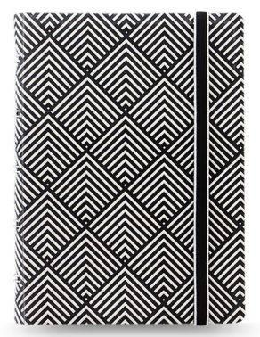 Тетрадь Filofax Impressions Pocket черный/белый (115070)