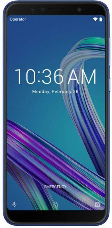 Смартфон Asus ZenFone Max Pro M1 ZB602KL 32ГБ синий (90AX00T3-M01300) - фото 2