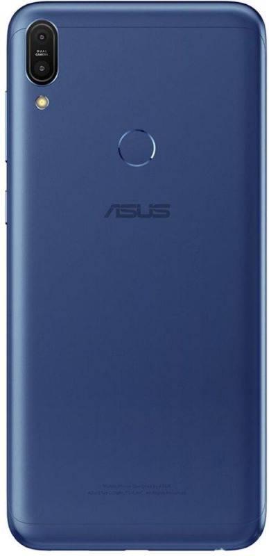 Смартфон Asus ZenFone Max Pro M1 ZB602KL 32ГБ синий (90AX00T3-M01300) - фото 3