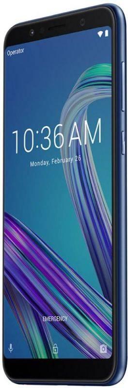 Смартфон Asus ZenFone Max Pro M1 ZB602KL 32ГБ синий (90AX00T3-M01300) - фото 4