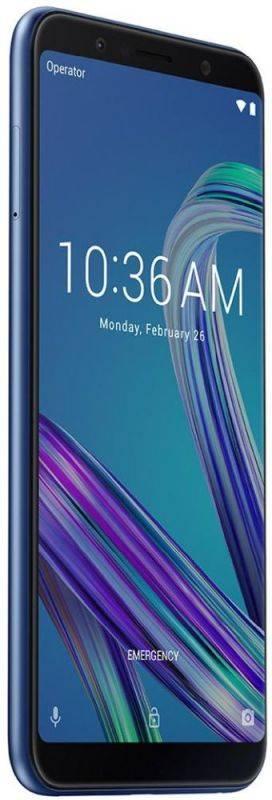 Смартфон Asus ZenFone Max Pro M1 ZB602KL 32ГБ синий (90AX00T3-M01300) - фото 5
