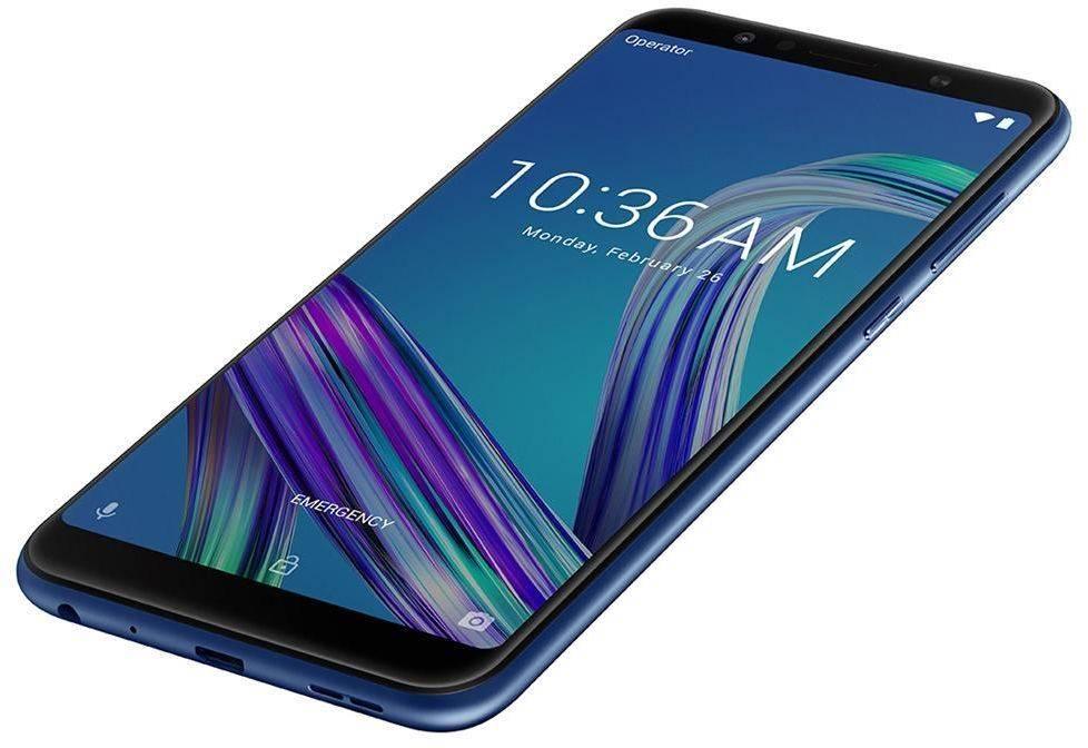 Смартфон Asus ZenFone Max Pro M1 ZB602KL 32ГБ синий (90AX00T3-M01300) - фото 8