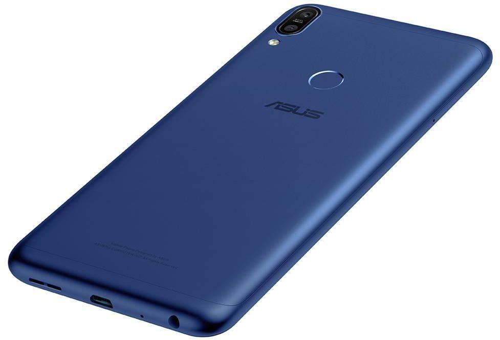 Смартфон Asus ZenFone Max Pro M1 ZB602KL 32ГБ синий (90AX00T3-M01300) - фото 9