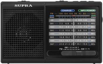 Радиоприемник Supra ST-15U черный