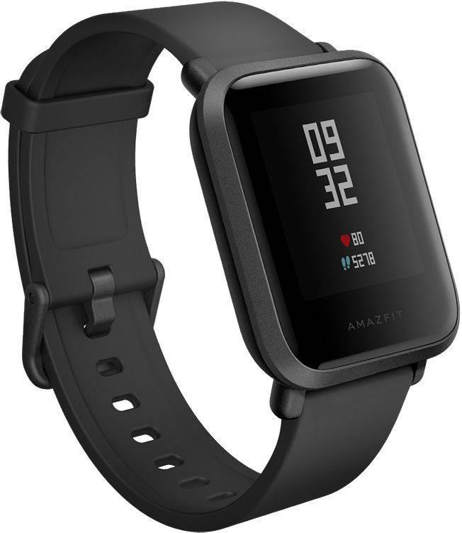 Смарт-часы XIAOMI Amazfit Bip черный - фото 1