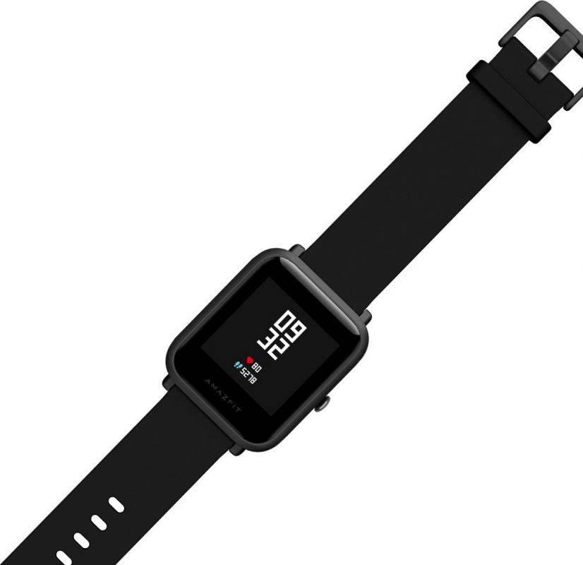 Смарт-часы XIAOMI Amazfit Bip черный - фото 3