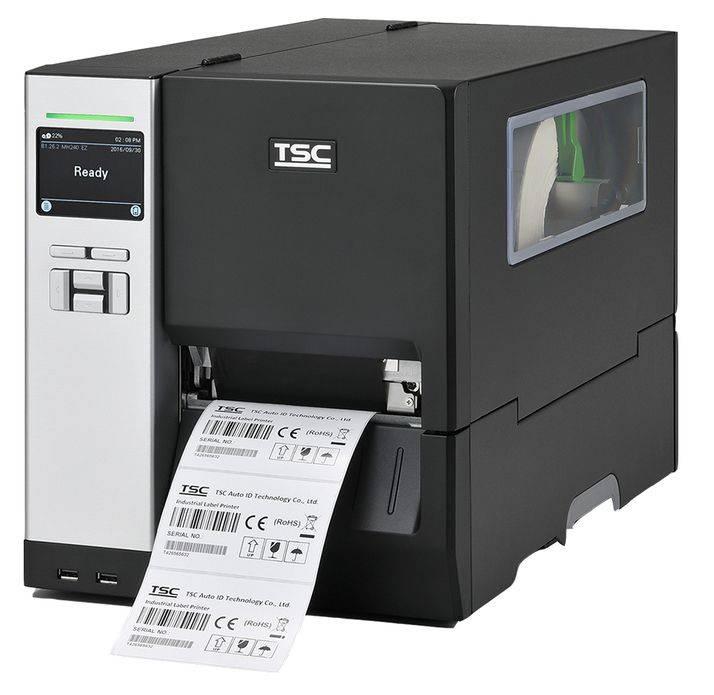 Принтер для печати наклеек TSC MH340T черный - фото 1