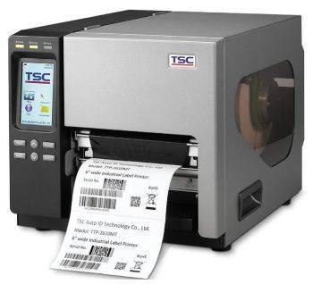 Принтер для печати наклеек TSC TTP-2610MT светло-серый