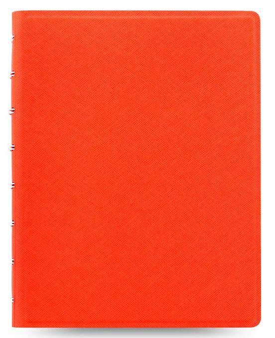 Тетрадь Filofax Saffiano A5 оранжевый (115059) - фото 1