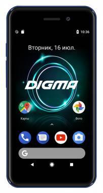 Смартфон Digma A453 3G Linx 8ГБ синий (LT4038PG)