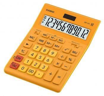 Калькулятор настольный Casio GR-12C-RG оранжевый (GR-12C-RG-W-EP)