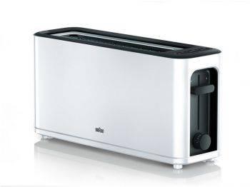Тостер Braun HT3110 белый/черный (0X23010011)