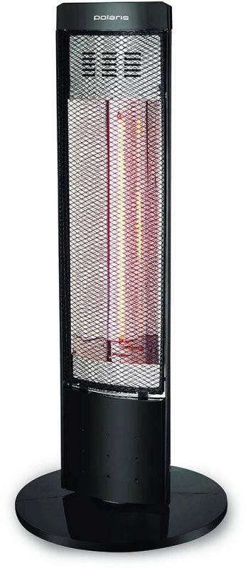 Галогеновый обогреватель Polaris PHSH 0708D черный - фото 1