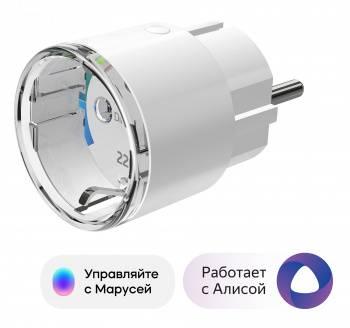 Умная розетка для розетки с измерением энергопотребления Digma DiPlug 100S (DPL101)
