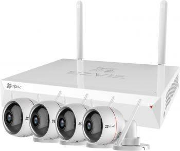 Комплект видеонаблюдения Ezviz CS-BW2424-B1E10 (EZWIRELESSKIT 4CH)