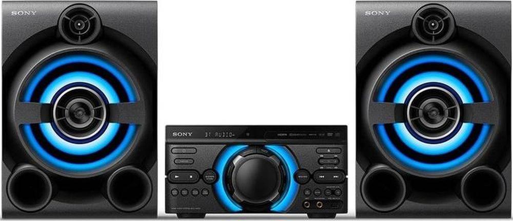 Минисистема Sony MHC-M60D черный (MHCM60D.RU1) - фото 1