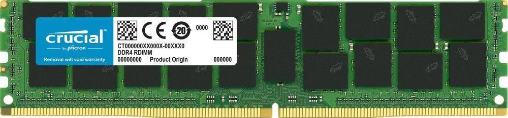 Модуль памяти DIMM DDR4 1x16Gb Crucial CT16G4RFD8266 - фото 1