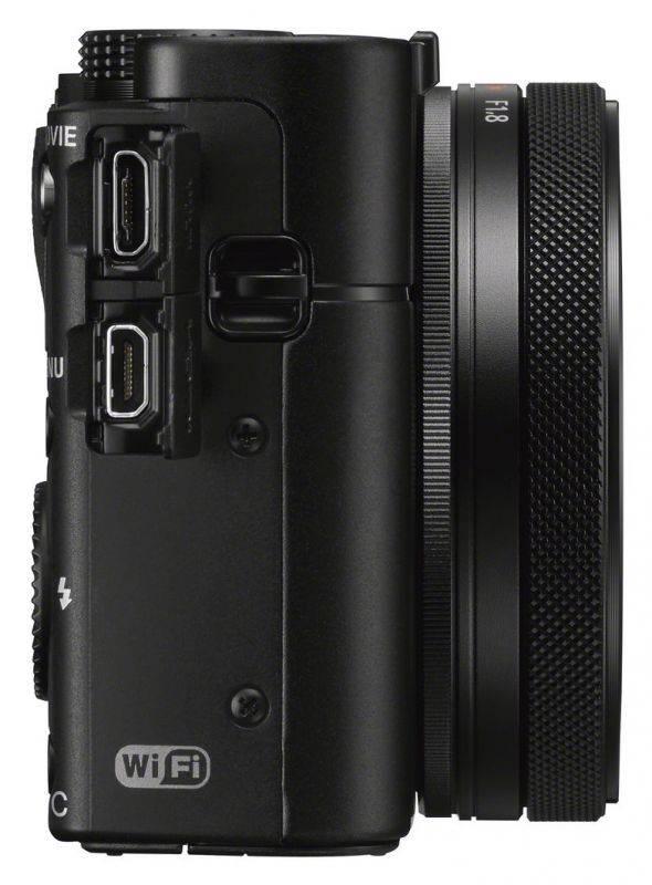 Фотоаппарат Sony Cyber-shot DSCRX100M5A черный (DSCRX100M5A.RU3) - фото 7