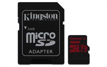 Карта памяти microSDHC 32Gb Class10 Kingston Canvas React (SDCR/32GB)