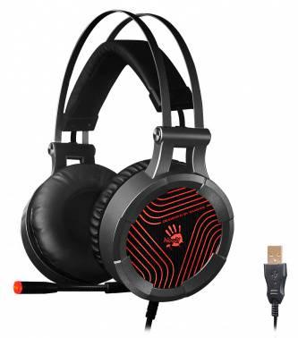 Наушники с микрофоном A4Tech Bloody G530 черный/серый (G530)