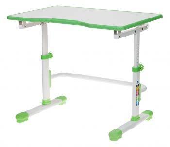 Парта школьная Бюрократ CONDUCTOR-001 белый/зеленый