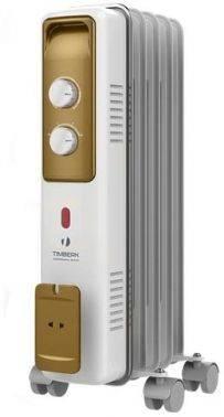Масляный радиатор Timberk TOR 21.1005 BCX белый