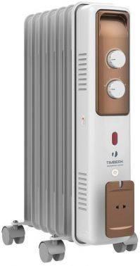 Масляный радиатор Timberk TOR 21.1507 BCX белый