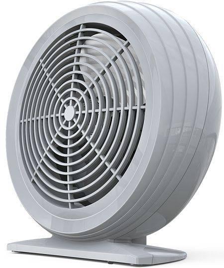 Тепловентилятор Timberk TFH S20SMX.G серый - фото 1